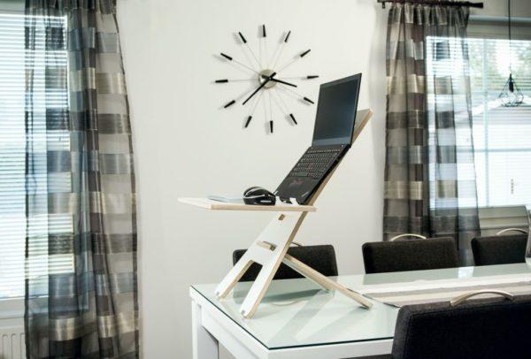 height-adjustable table